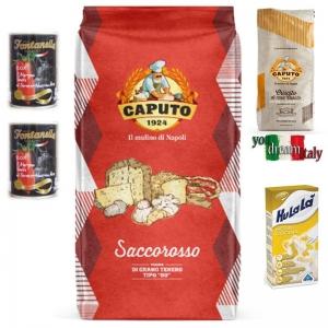 Kit Caputo Harina Blindada rojo con Criscito