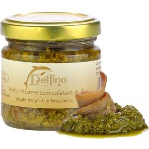 Pesto cetarese avec anchois sauce 212 ml