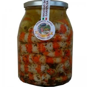 Gamberoni in olio Gr. 1000