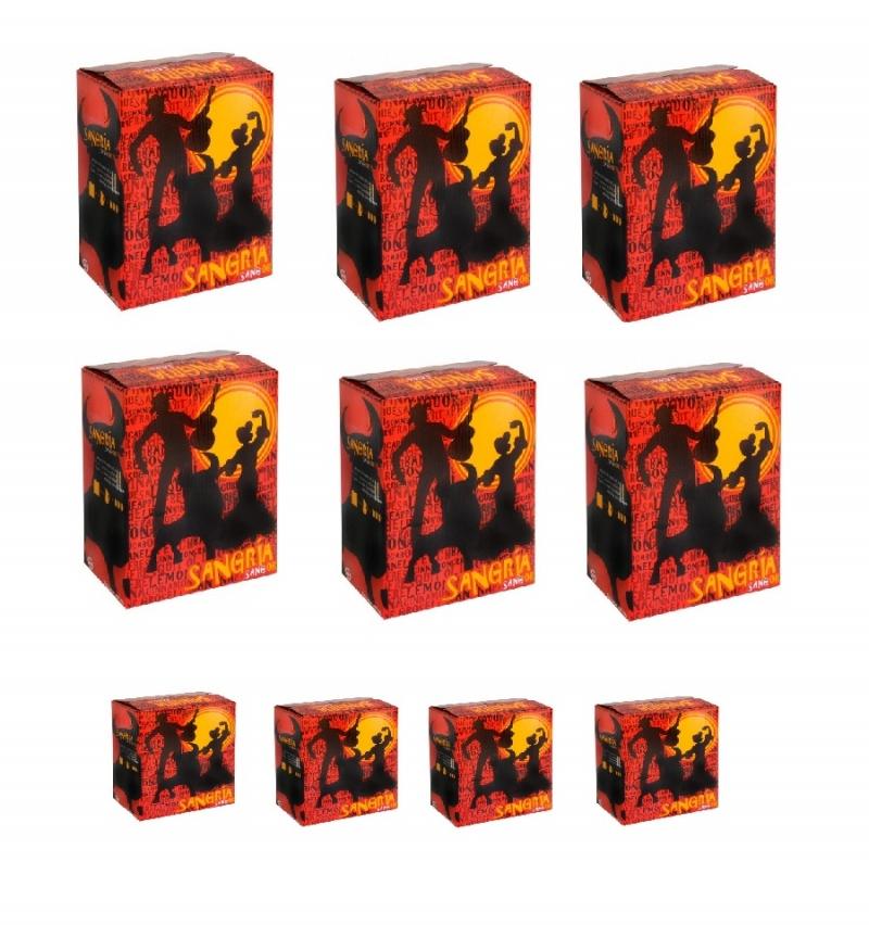 OFFER !!! Sangria BAG in BOX 5 Lt - 10 Pieces (50 Lt)