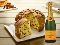 Panettone artesanal ventanal + Champagne Veuve Clicquot Brut 75 cl.