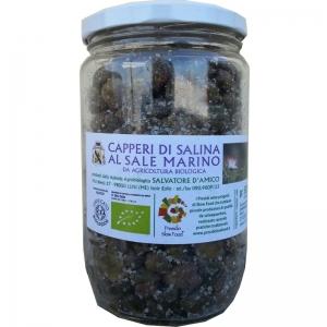 Salina Capers of Sea Salt