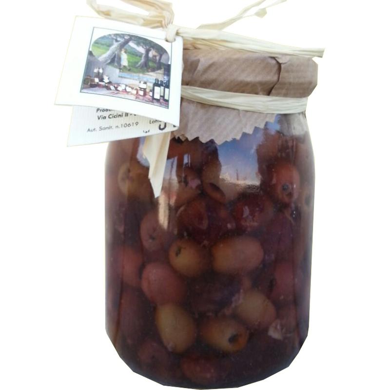 Olive Caiazzane denocciolate 580 ml
