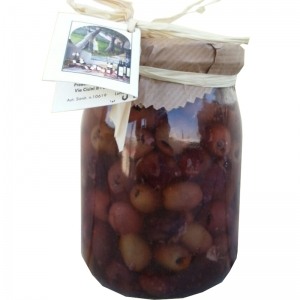 Olives Caiazzane sans pierres 580 ml