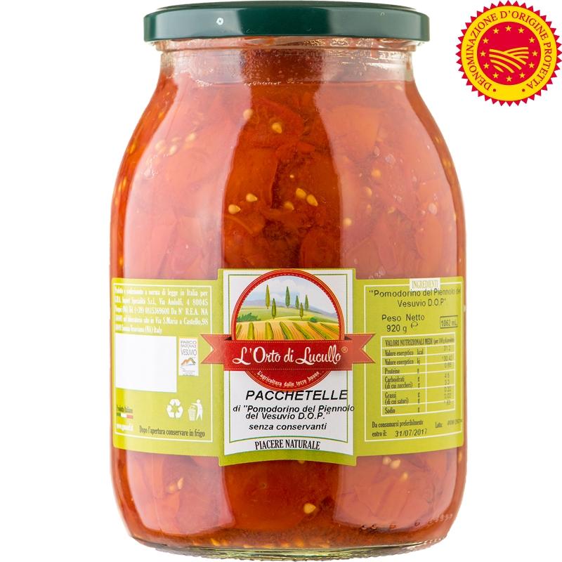 Pacchetelle del pomodorino del Piennolo DOP 1062 ml
