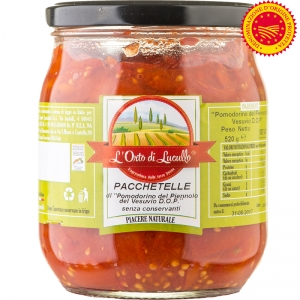 Pacchetelle of tomato Piennolo DOP 580 ml