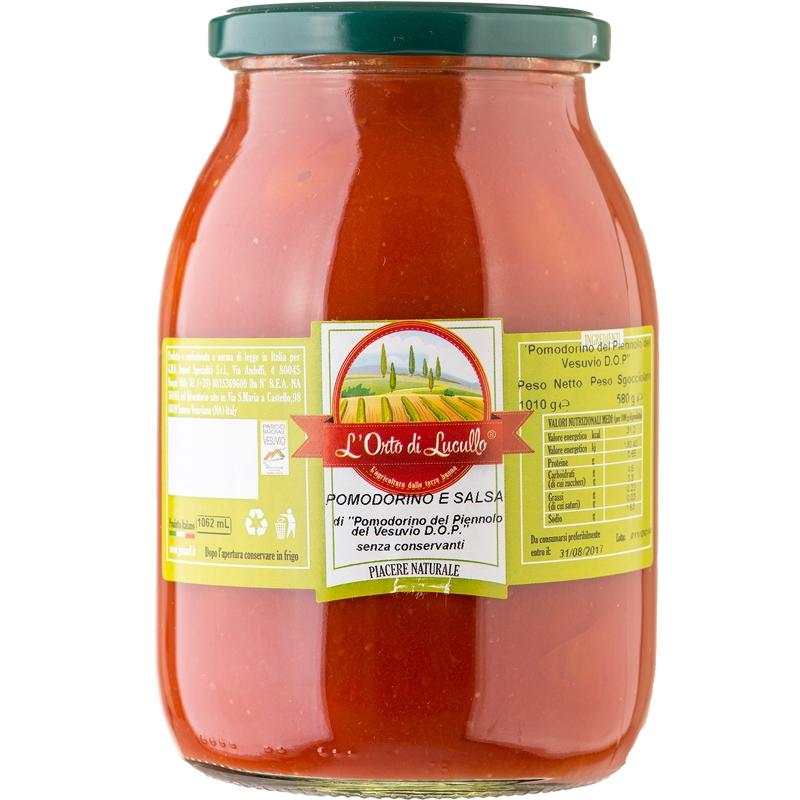 Pomodorino del Piennolo del Vesuvio DOP in Salsa di Piennolo 1062 ml