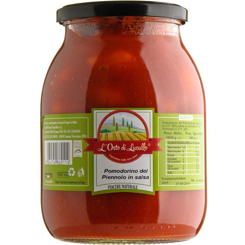 Pomodorino del Piennolo del Vesuvio DOP in Salsa di Piennolo 580 ml