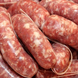 Fresh sausage with fennel Kg. 5