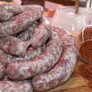 Fresh sausage with chilli Kg. 5