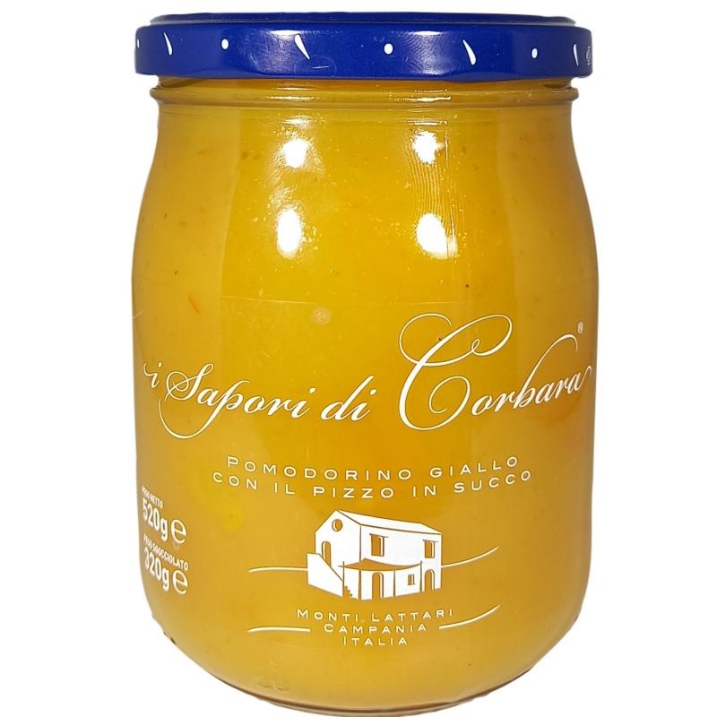 Pomodorino Giallo in Salsa 580 ml