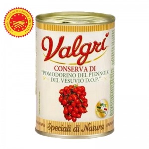Tomates Piennolo Vesubio DOP en estaño Gr. 400