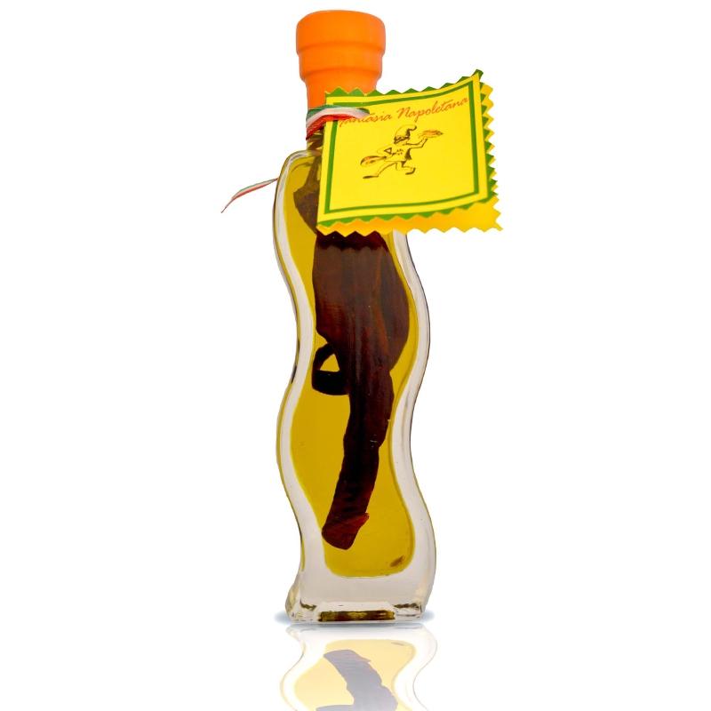 Olio aromatizzato al Peperoncino Piccante