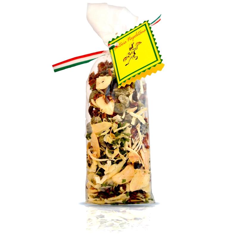 Vorbereitet pasta - Puttanesca -
