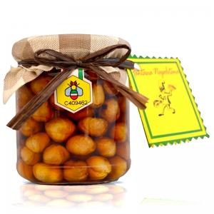 Hazelnuts in Chestnut Honey - Park of Vesuvius