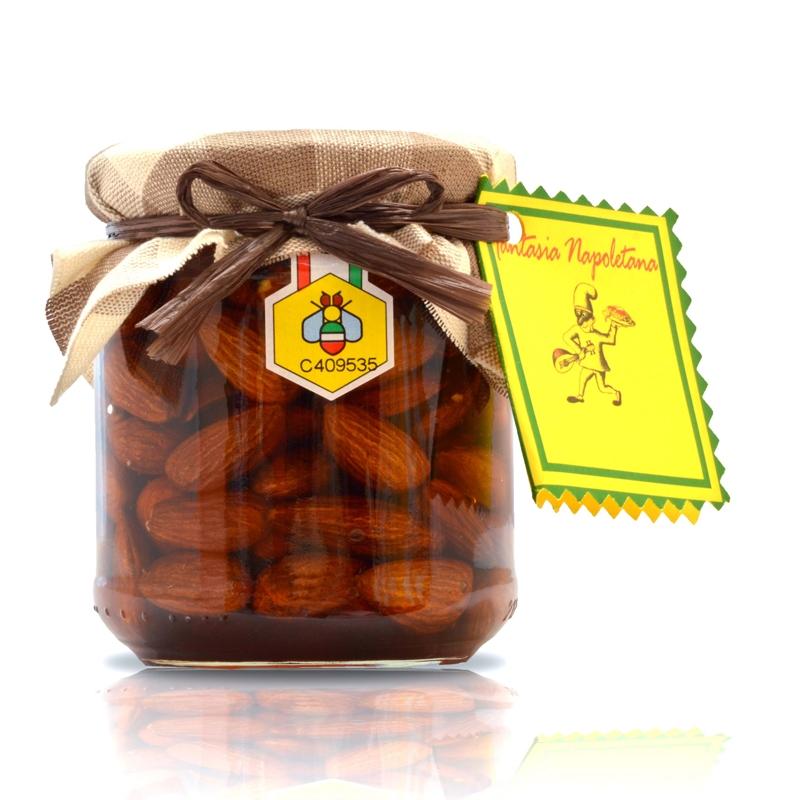 Almonds in Chestnut Honey - Park of Vesuvius