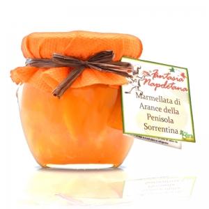 Jam with oranges of Sorrento Peninsula