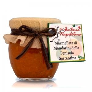 Marmalade con mandarines de la península de Sorrento