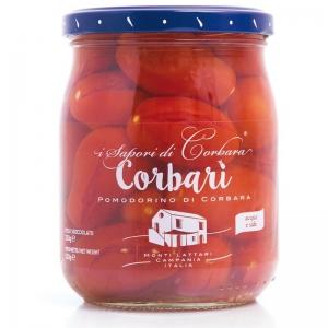 Corbari - Corbara de tomates en agua con sal 520 gr. - SAPORI DI CORBARA -