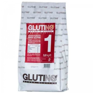 Gluten Free Flour Glutinò Kg. 3 - Bread and Pizza