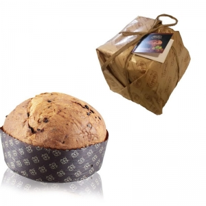 PANETTONE ARTISAN A RISING NATURAL Stuffed Dark Chocolate