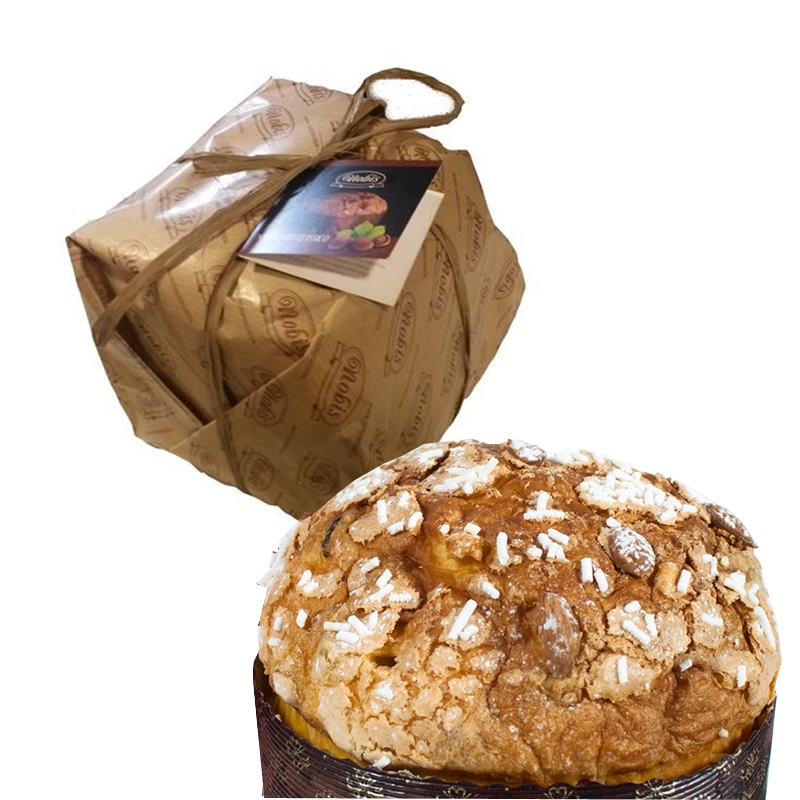 PANETTONE ARTISAN A RISING NATURAL Stuffed with Almonds