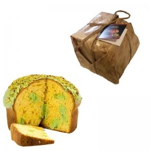 PANETTONE ARTESANAL Una fermentación natural Relleno de pistacho