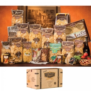 The packaging Gragnano