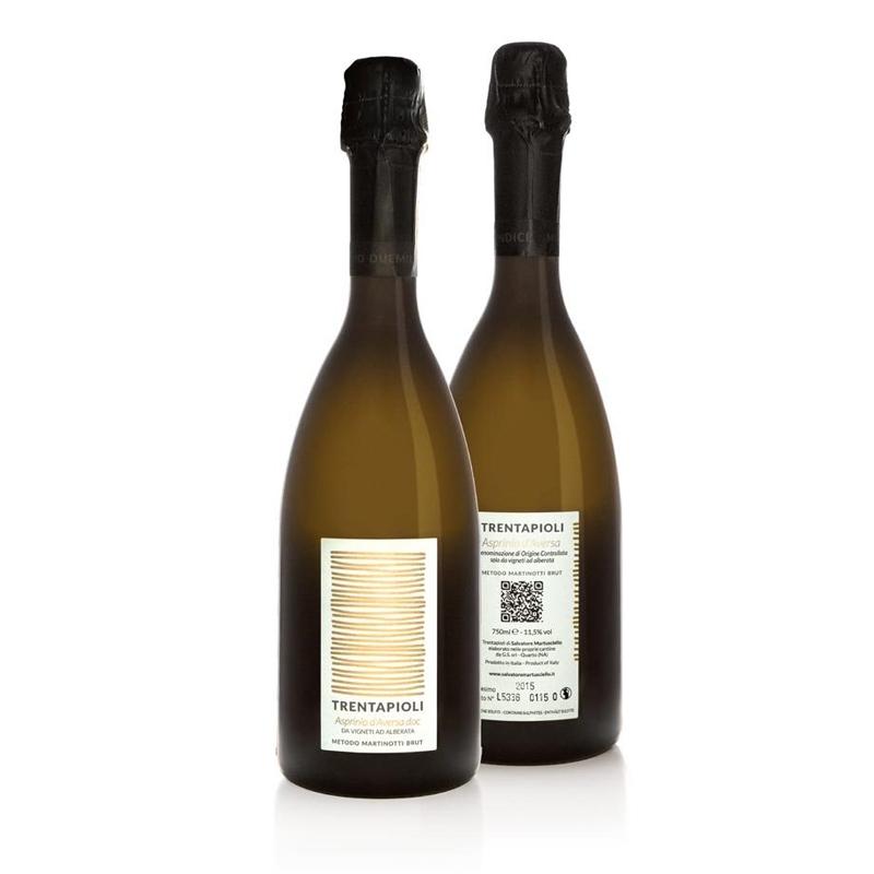 sparkling wine TRENTAPIOLI – Asprinio d'Aversa doc