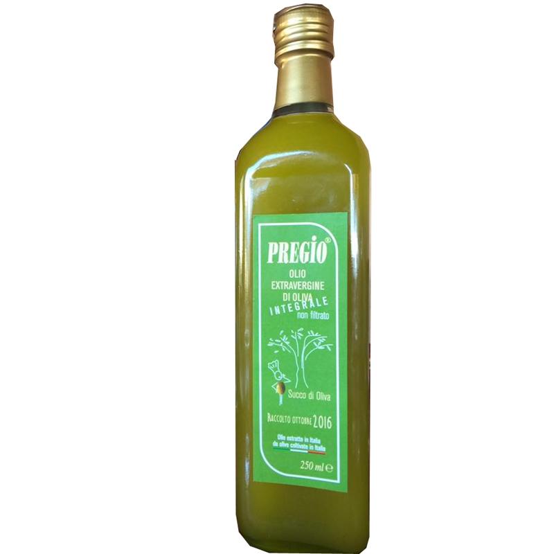 Integral Pregio Oil no filtrado extra virgen