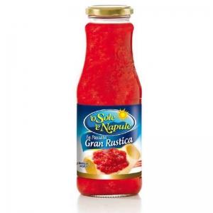 "Puré de tomate ""Gran Rustica"" 690gr - ""O Sol e Napule"""