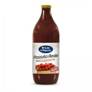 """Puré de tomate """"Royal"""" 660gr - """"O Sol e Napule"""""""