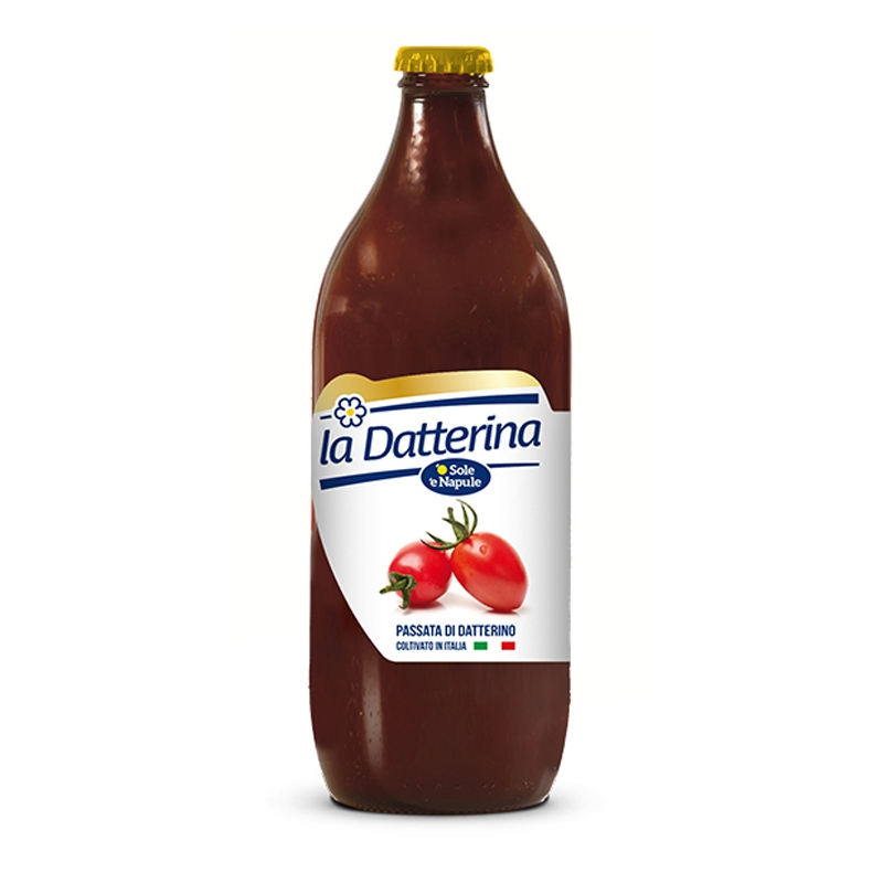 "Tomate puré Datterino 660gr - ""O Sol e Napule"""