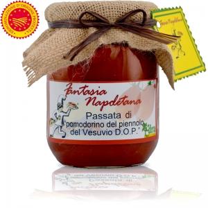 """Tomate Piennolo de Vesuvio DOP en """"Salsa de tomate"""""""