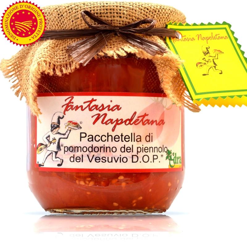 """Pomodorino del Piennolo del Vesuvio DOP in """"Pacchetella"""""""