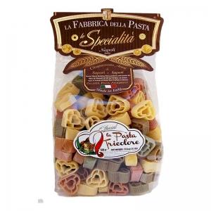 Pasta Cuori Tricolori 500 Gr.