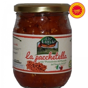 PACCHETELLA OF TOMATOES Piennolo of Vesuvius DOP ML580 - Ciro Curcio