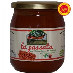 PASSATA POMODORINO DEL PIENNOLO DEL VESUVIO DOP ML580 - Ciro Curcio