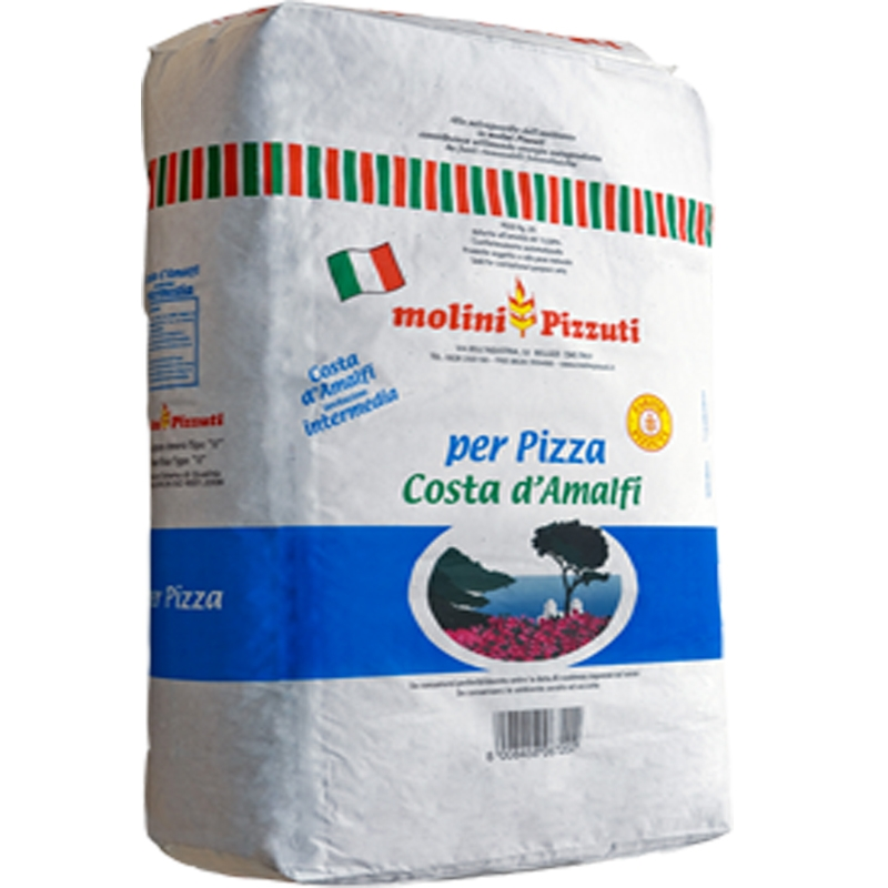 "Pizzuti flour Costa D'Amalfi ""0"" Kg. 25 - For pizza"