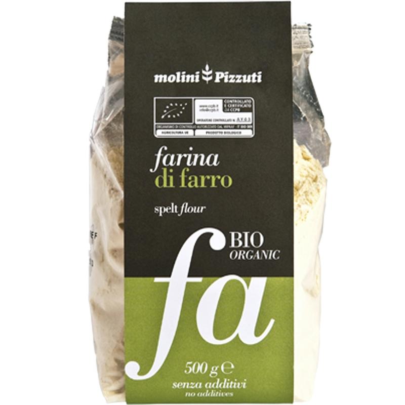 Spelt flour Mulini Pizzuti 500 Gr