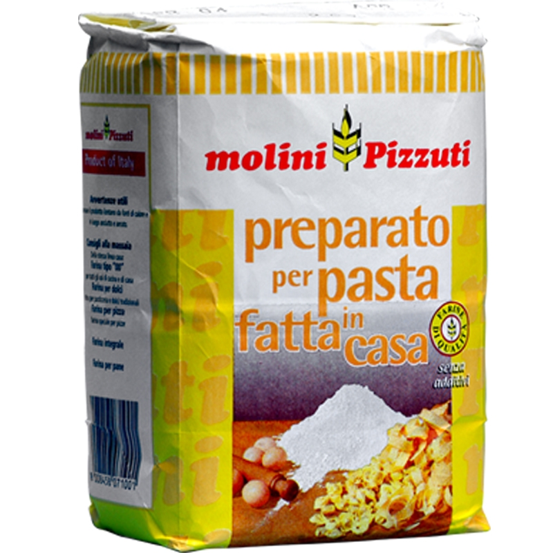 "Harina de Pizzuti ""Preparada para pasta casera"" Kg. 1"
