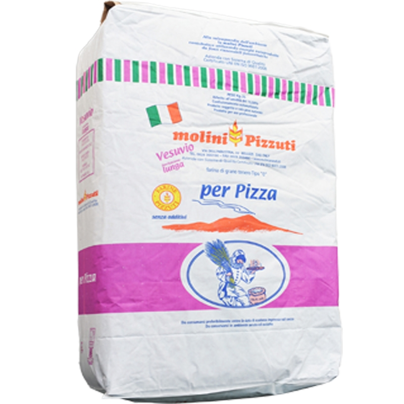"Flour Pizzuti Vesuvio ""0"" Kg. 25 - For pizza"