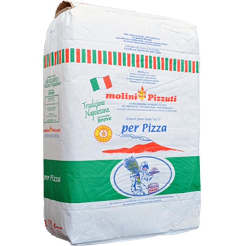 """Farina Pizzuti Tradizione Napoletana """"00"""" Kg. 25 - Per pizza"""
