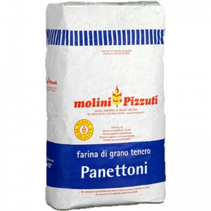 "Farina Pizzuti Tipo Panettone & Babà ""0"" Kg. 25"