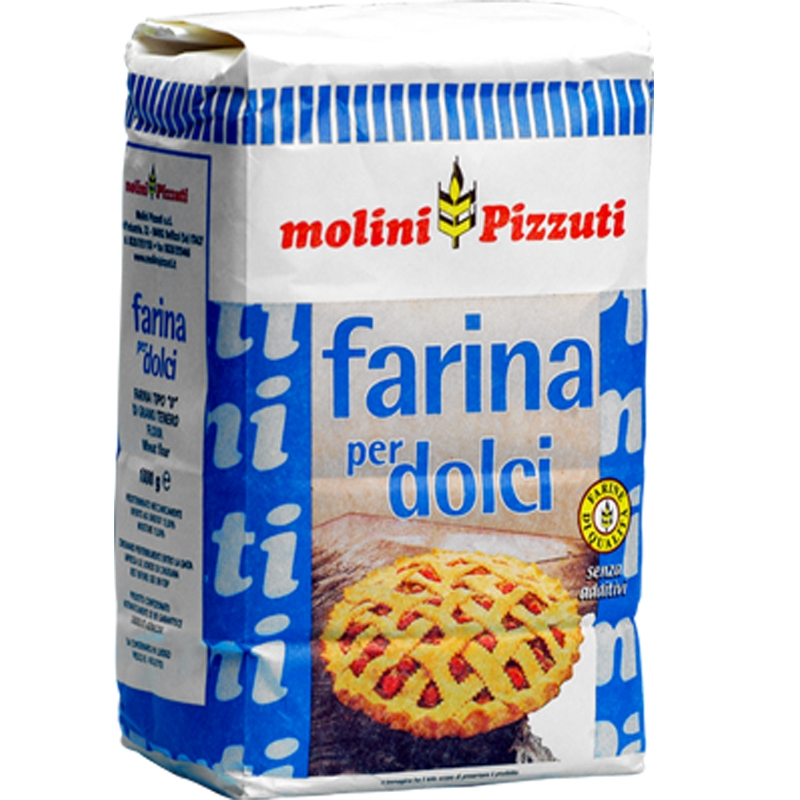 Harina De Pizzuti Para Los Dulces Kg. 1