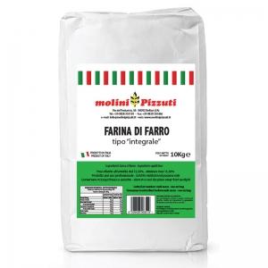 Farina Pizzuti Farro Integrale 10 Kg - Molini Pizzuti