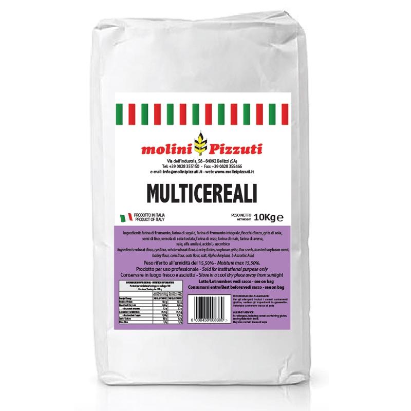 Farina Multicereali 10 Kg - Molini Pizzuti