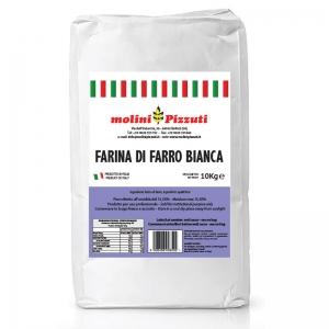 Farina Farro Bianca Kg. 10 - Molini Pizzuti