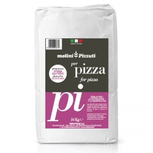 Mélange de farine Pizza sans gluten 10 kg - Molini Pizzuti