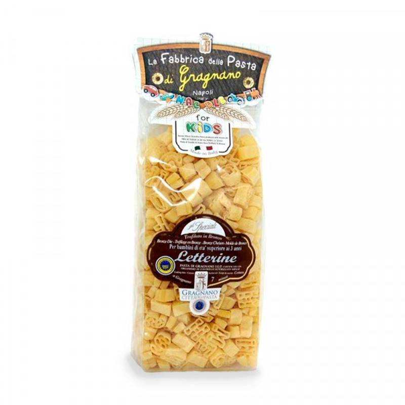 Pasta Kids - Letterine - Gragnano 500 Gr.